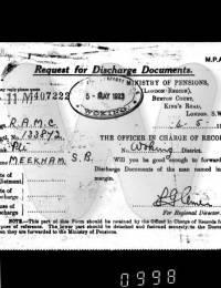 Stanley Blunden Meekham Service Record p9