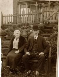 Emma and Charles Shepherd at 80 years