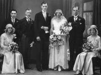 Frank and Margaret Shepherd Wedding Photo