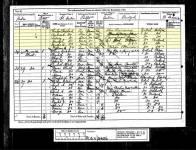 1881 Census Susannah Shepherd page 8